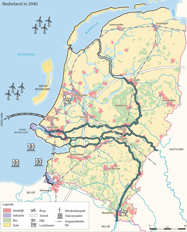 Nederland In 2040 Edugis