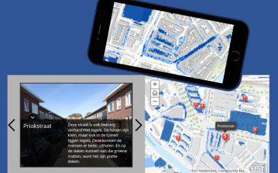Storymap over wateroverlast