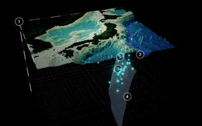 3D Model Aardbevingen Japan