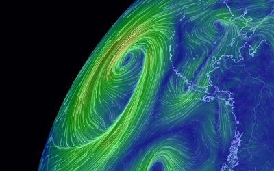 Earth Wind Globe